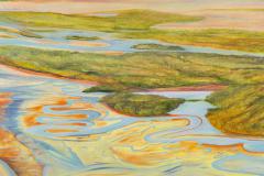 """Awakening 48"""" x 48"""" oil on canvas"""