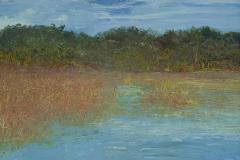 """Changing Tide 8"""" x 10"""" oil on panel, framed"""