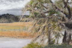 """Storm Warning 10"""" x 20"""" oil on canvas"""