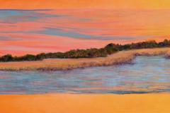 "Wetland 36"" x 95"" oil on canvas"
