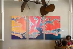 Charleston Coastline batik panels