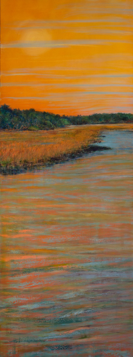 "Low Tide 96"" x 36"" oil on canvas $15,000"
