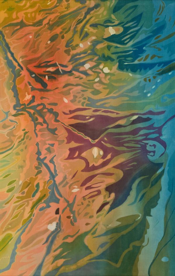 """Gulf Oil Spill, 55"""" x 35"""""""