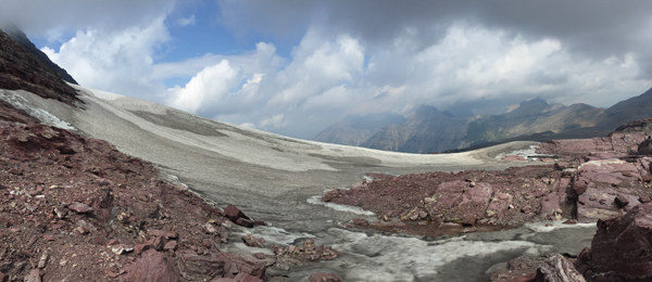 Sperry Glacier panorama