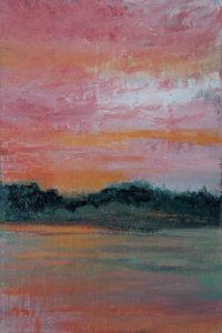 """Gratitude, oil on panel, 6"""" x 4"""""""